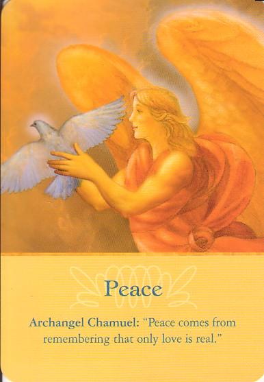 Resultado de imagem para Archangel oracle cards peace